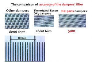 DX5 Damper Tight Connector for EPSON Stylus Pro 4000 / 4800 / 7400 / 7800 /  9800 / 9400 / 9450